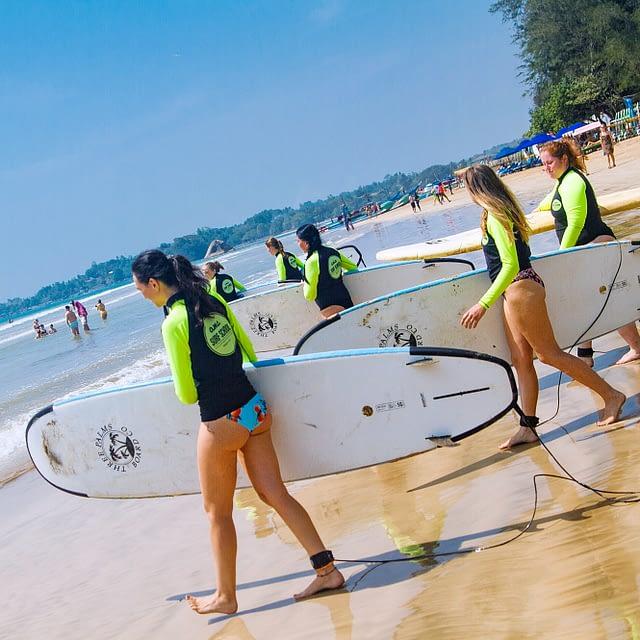 WELIGAMASURF SURFING