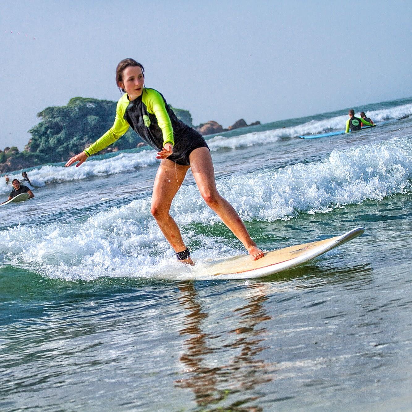 SURFING WELIGAMA SRILANKA
