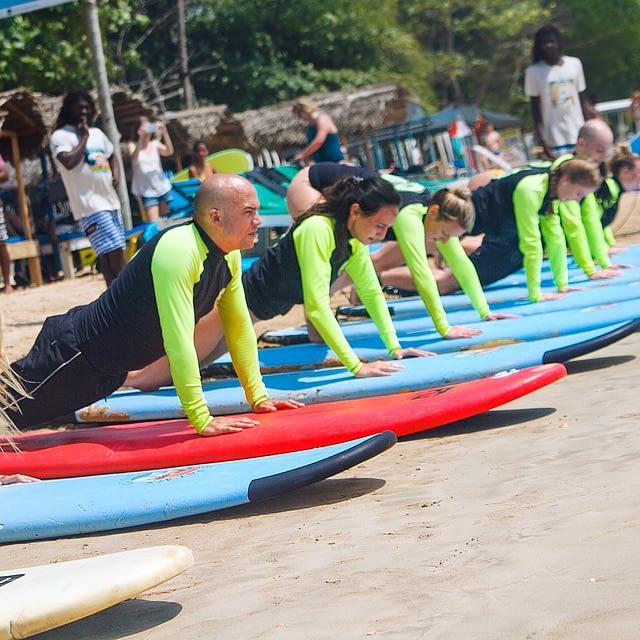 Weligama surfing school