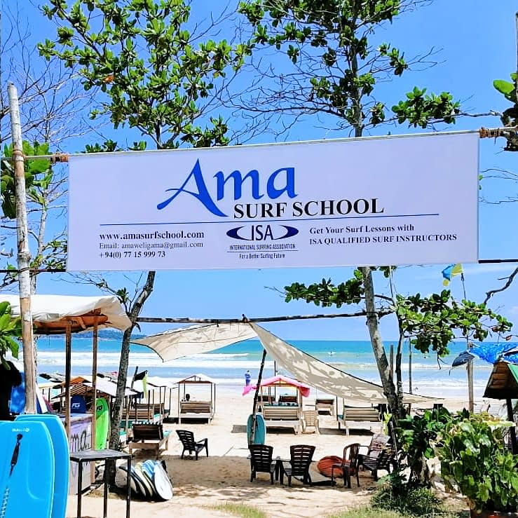 Best surf school Weligama