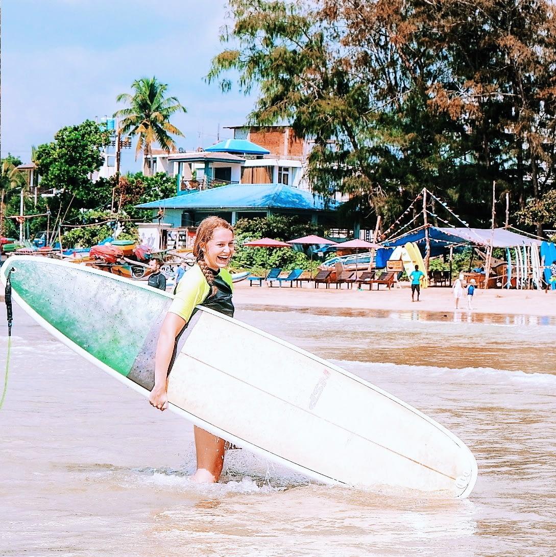 LONGBOARD SURF LESSON
