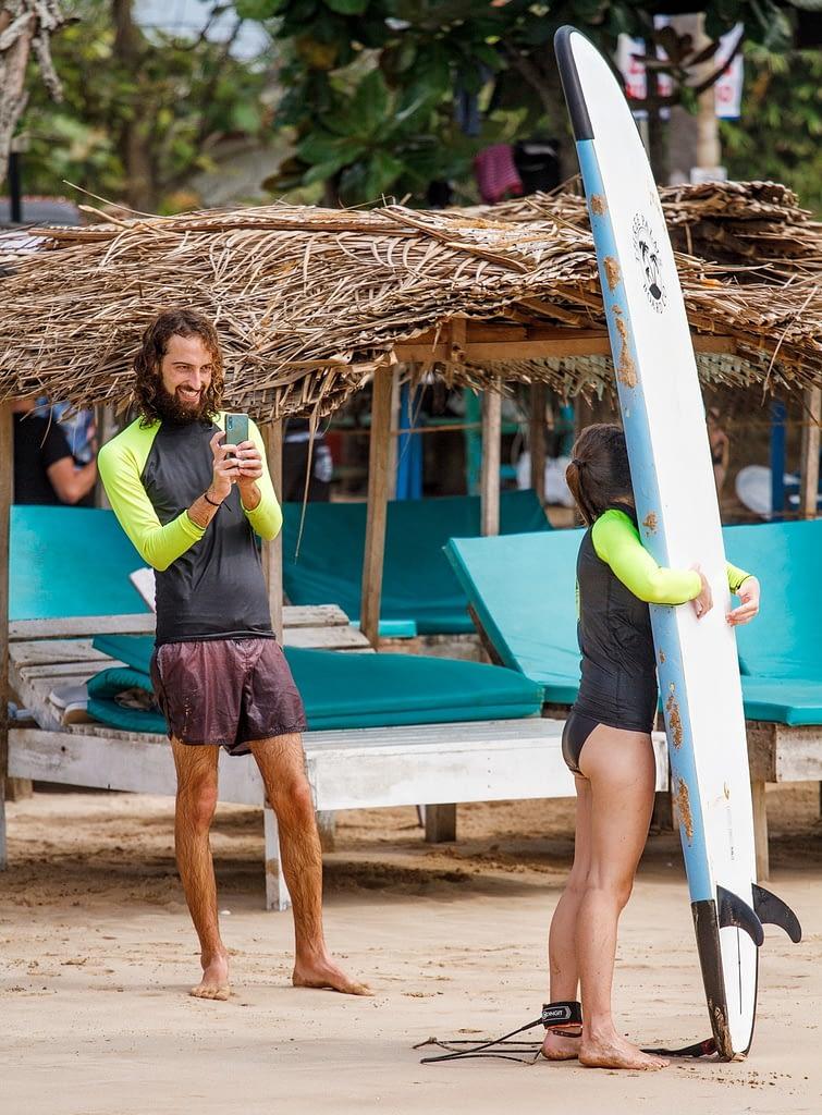 Weligama surfing school surf