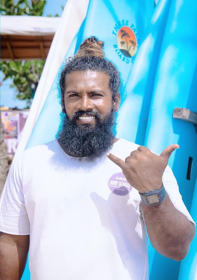 Weligama SriLanka surfing